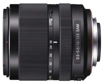 Sony 18-135mm SAM lens