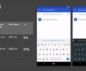 Gebruik stroom oledscherm, Google Android Dev Summit 2018