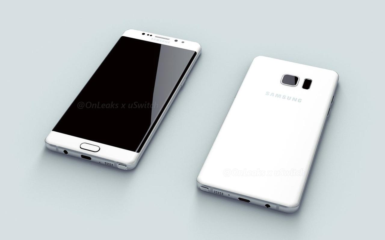 Vermoedelijke Samsung Galaxy Note 7