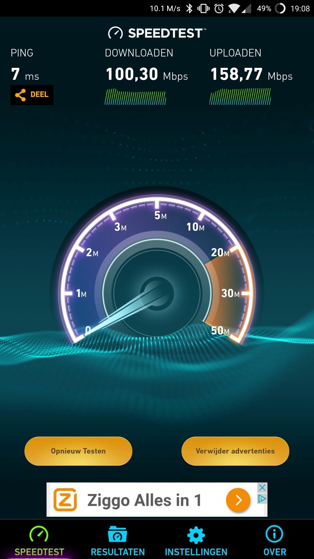Woonkamer - Speedtest App 5G