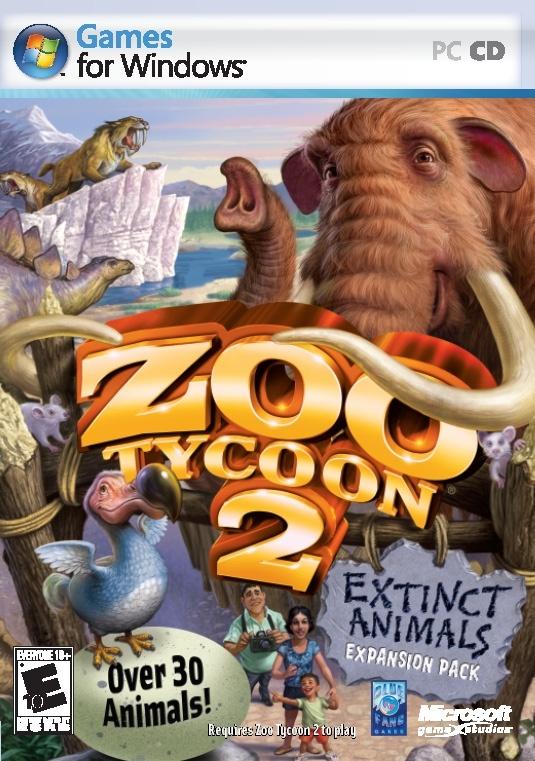Packshot voor Zoo Tycoon 2: Extinct Animals