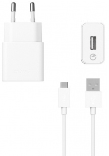 Sony Quick Charger UCH10 - snellader inclusief kabel - wit