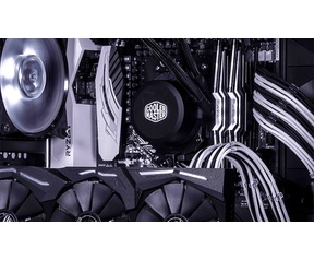 Cooler Master Sleeved Extension Cable Kit - Black & White