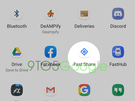 9to5Google Android Q Fast Share