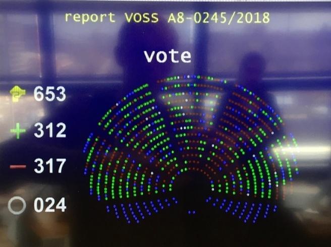 Auteursrechtrichtlijn EU amendementen