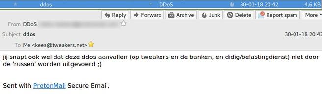 ddos mail