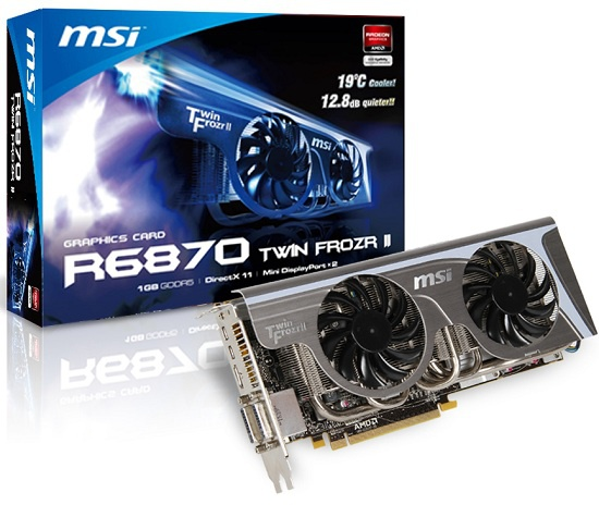 MSI HD6870 Twin Frozr II