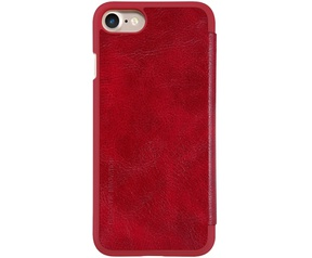 "Nillkin Qin PU Leather Book Case - Apple iPhone 7 (4.7"") - Rood"