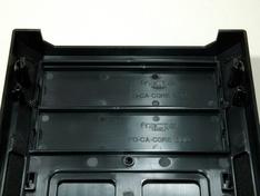 Kastfront detail afdekpanelen voor optische bays