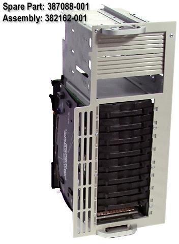 HP SP/CQ Cage LVD 9 Drvs PL 3000,5500,6500