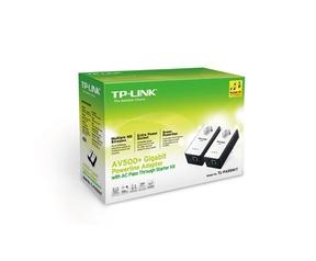 TP-Link TP-LINK AV500+ Gigabit Pwrln Adapter Starter Kit (TL-PA551KIT)
