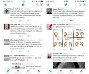 Twitter nieuwe timeline obv algoritme