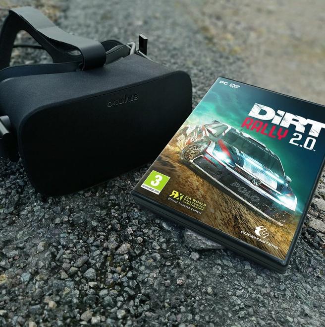DiRT Rally 2.0 krijgt vr-ondersteuning