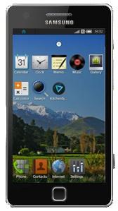 Mockup Samsung GT-I9500 met Tizen