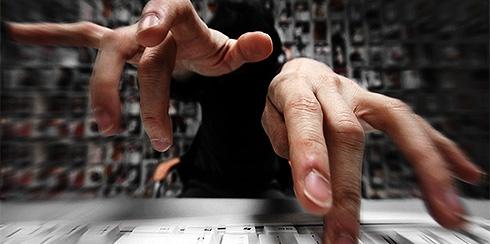 tikken op dat toetsenbord wopwopwop