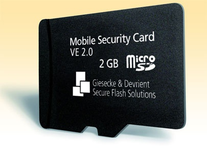 Giesecke&Devrient SGS Mobile Security Card