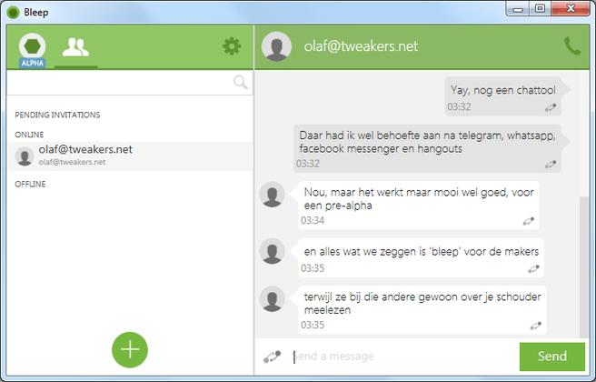 BitTorrent Bleep