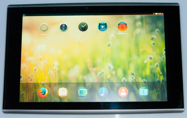 Tablet met Firefox OS