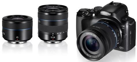 Samsung NX 12-24mm 45mm f/1,8
