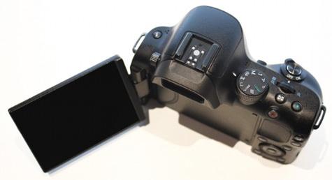 Samsung NX20 pre-productie model