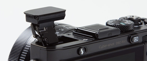 Sony RX1 flitser