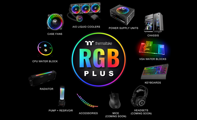 Thermaltake RGB Plus