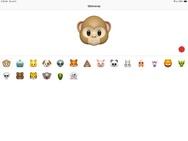 Animoji's op iPad