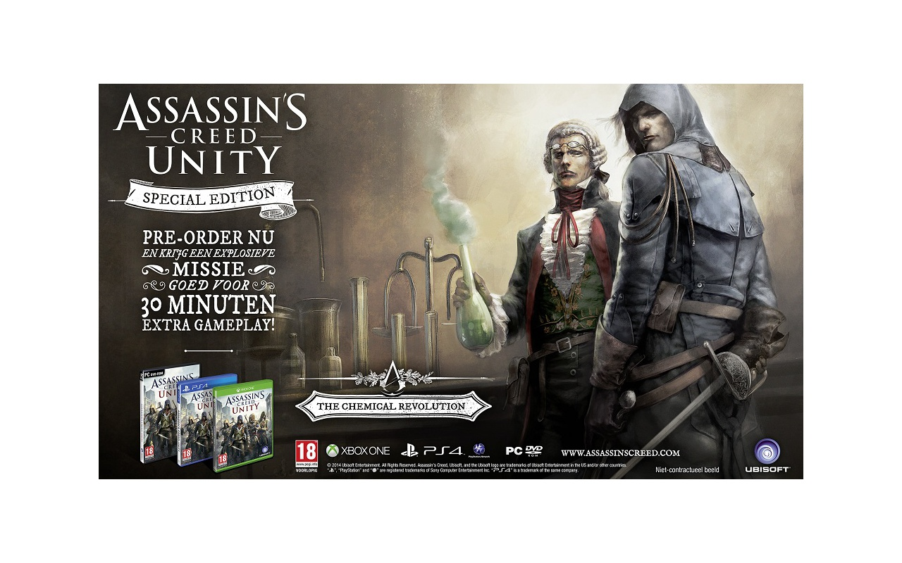 Assassin's Creed Unity Special Edition, PC (Windows)