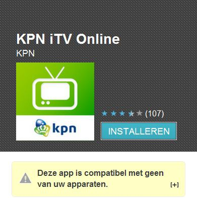 Kpn Supports Only Samsung Phones With Itv App Allinfo
