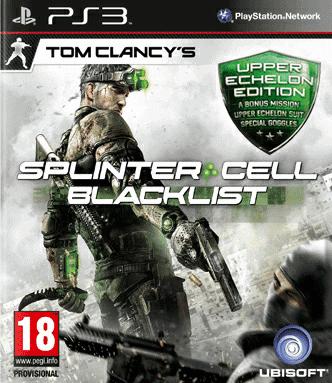Tom Clancy's Splinter Cell: Blacklist Upper Echelon Edition, PlayStation 3