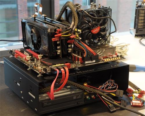 GTX 460 SLI Testsysteem
