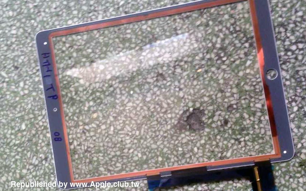 Vermoedelijke onderdelen iPad Air 2