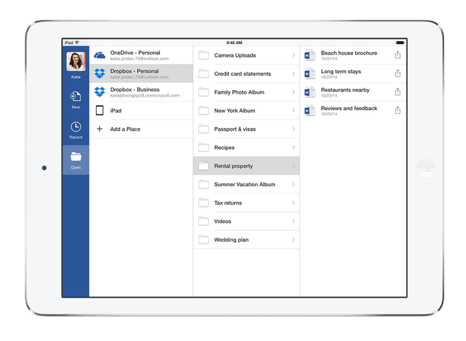 Office voor iPad