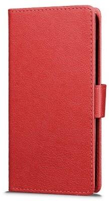 qMust Asus Zenfone Go (ZB500KL) Wallet Case - TPU frame - Rood