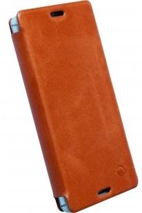 Krusell Kiruna FlipCase Sony Xperia Z3 Compact (Camel)