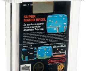 Super Mario Bros. auctioned for $ 114,000