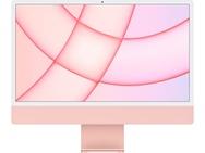 "Apple iMac 24"" Retina 4.5K (2021) M1, 8-core GPU, 8GB, 256GB ssd (Qwerty toetsenbord), Roze"