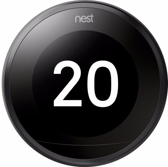 Nest Learning Thermostat V3 (Zwart)