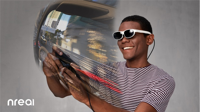 Nreal AR-bril