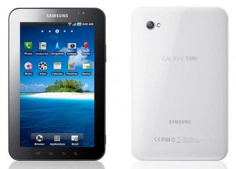 Galaxy Tab inleiding