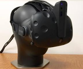 RealSense-uitbreiding voor HTC Vive