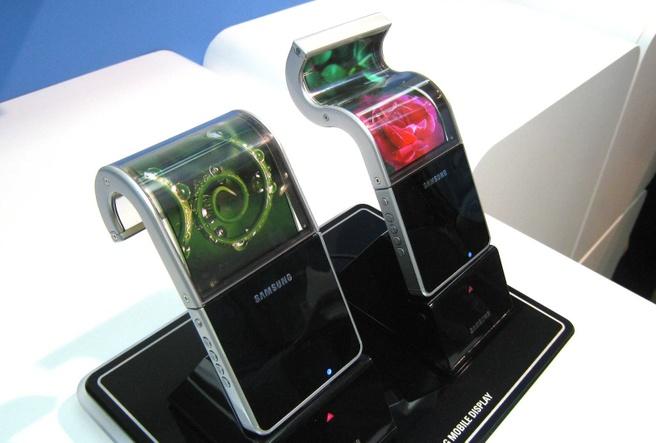 Flexibele amoleds van Samsung uit 2008