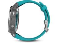 Garmin Fenix 5S (42mm, standaard glas) Zilver (Blauw)