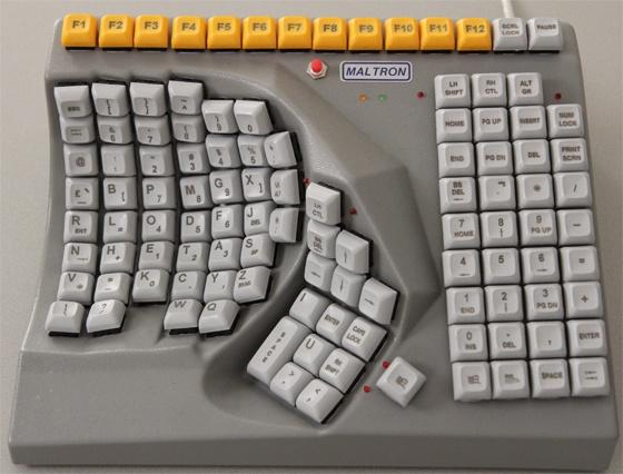 Maltron Single Hand Keyboard