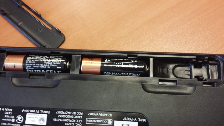 k360 batterij