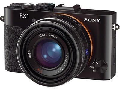Sony RX1-camera fotos uitgelekt