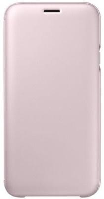 Samsung Galaxy J5 (2017) Wallet Cover Roze