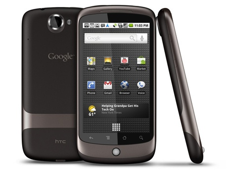 HTC Nexus One Zwart