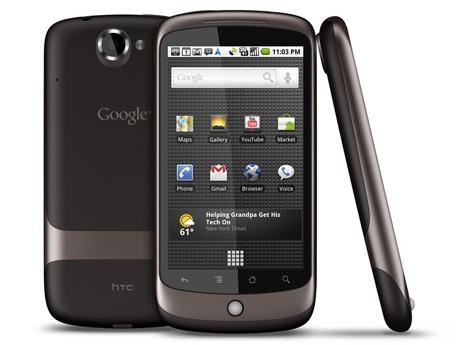 HTC Nexus One Zwart