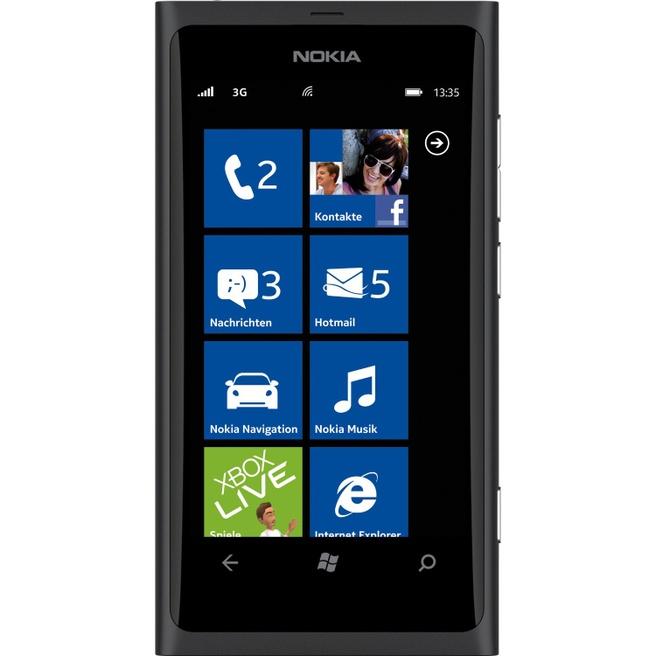 Nokia Lumia 800 Zwart